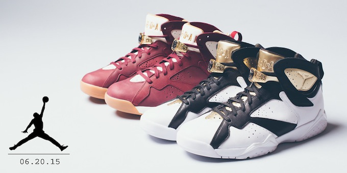 """Air Jordan 7 """"Championship Pack"""""""