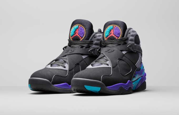 "Air Jordan 8 ""Aqua [Black Friday Release]"