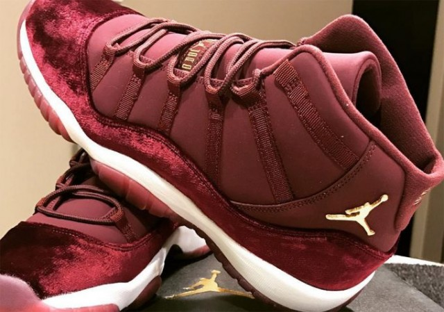 Velvet Night Maroon Air Jordan 11